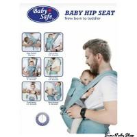 Baby Safe BC006 Hip Seat New Born to Toddler Gendongan Bayi