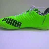 Sepatu Futsal Puma Evopower Hijau Stabilo list Hitam Gr Murah