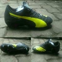 Sepatu Bola Puma Evospeed SL Hitam list Stabilo Grade O Limited