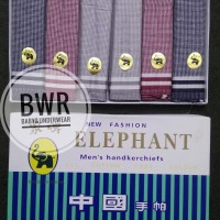 [ isi 6 pc ] Sapu tangan elephant muda