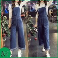 PLAYSUIT KULOT NARITA (TUA) Jumpsuit Jeans Baju Kodok Cewek Terbaru