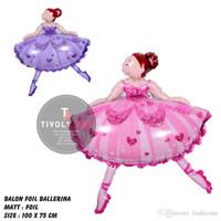 Balon Foil Ballet / Balon Foil Ballerina / Balon Ballerina