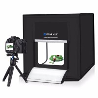 PULUZ Photo Studio Mini Portable - Light Tent & LED - 60x60x60 cm