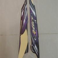 Stiker Bodi & Lis Body & Striping Mio Sporty 2010 Hitam