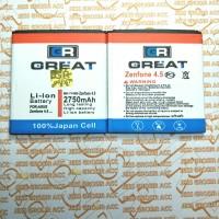 Baterai Battery Double Power ASUS Zenfone 4S A450CG C11P1403 C11P144