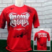 Baju Kaos Arema FC Suporter Aremania Mbois Keren Merah