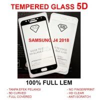 TEMPERED GLASS 5D Samsung J4 - J6 - J8 2018 full screen anti gores TG