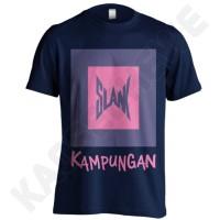 KAOS SLANK KAMPUNGAN 01 - KGD - DONGKER UKURAN S-XXL
