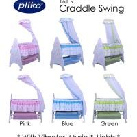 Pliko Swing Craddle 161R Box Bayi Ranjang Kasur Tempat Tidur Anak Bayi