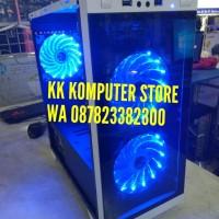 PC CPU RAKITAN GAMING RYZEN 5 2400G MSI B350M GAMING HDD 2TB WIFI