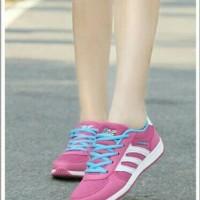 #Sneakers sepatu sneakers wanita adidas replika mo 74 astri pink fanta