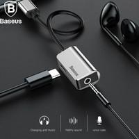 Baseus USB Type C to Type C Aux 3.5mm Female Audio Adapter Converter