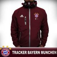 Jaket parasut waterproof tracker windbreaker Bayern Munchen Munich