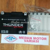 BEST SELLER! Aki Motor Honda Verza 150 CW Thunder GTZ5S kering