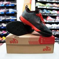 Sepatu Futsal Specs Metasala Musketeer Toast Signal Black