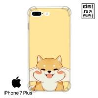 Shiba Inu Cute Dog Casing Iphone 7 Plus Anti Crack Anticrack Case