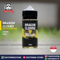 DRAGON CLOUDZ - BANANA BREAKER 100ML 3MG Liquid by Vape Architects