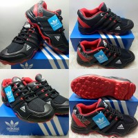 Sepatu adidas AX2 MERAH HITAM.