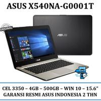 Laptop Asus X540NA-G0001T - CEL 3350, 4GB, 500GB, WIN10, 15.6