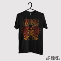 Kaos Avenged Sevefold - Fire Bat