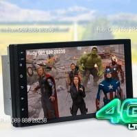 Head Unit Android XPANDER AVT DAV 6767 7 RAM 2 GB + 4G LTE SIM CARD