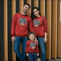 KAOS FAMILY / BAJU COUPLE IBU AYAH DAN ANAK