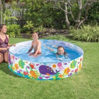 Intex Snapset Ocean Pool. Kolam Renang Anak Lipat Tanpa Tiup Pompa