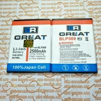 Baterai Battery Batre Double Power OPPO BLP589 Joy 3 , Mirror 3 , A11w