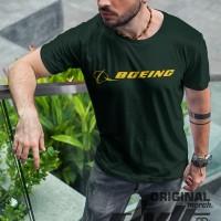 Kaos / T-shirt Distro Boeing Logo Murah