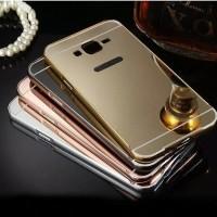 Mirror Case Xiaomi Redmi Note 1 3G/4G Back Cover Metal Alumunium