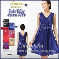 Baju Tidur Wanita Daster Satin Sorex Exclusive BT 7038