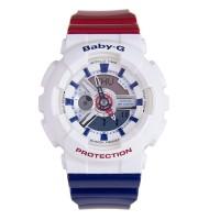 Jam Tangan Wanita / Cewek Casio Baby G Baby-G BA 110 Tri Color Ori BM