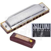 Harmonika FOLK MASTER Suzuki 1072 Kunci C 10 Hole Diatonic Harmonica