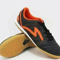 Sepatu futsal Original Specs Horus in Hitam Orange