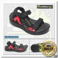 [OT] sandal outdoor pro, sandal gunung Azalea KDX Black, sandal gunung