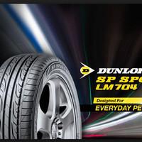 Ban Mobil Dunlop 185/60 R14 LM704 Dunlop  56891