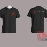 Kaos Logo Astralis - REDMERCH