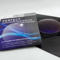 Lensa photocromic grey Anti Blue ray Uv 420 nm