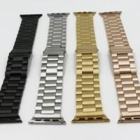 NEW strap apple watch stainless 3 link i wacth series 1 2 3 terlaris