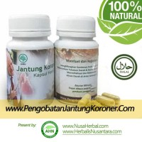 Obat Herbal Untuk Jantung Koroner