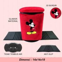 Tempat Sampah Mobil Mickey Mouse , Aksesoris Mobil Motif Mickey