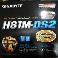 MOTHERBOARD GIGABYTE H81M-DS2 LGA1150 / Mobo H 81 M DS2 LGA 1150 DDR3