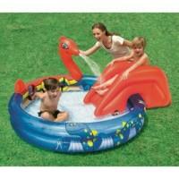 Termurah 17000373 kolam renang anak ular viking pool perosotan bestway