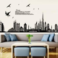 JM7280 Beautiful Dubai wallsticker wall sticker stiker dinding