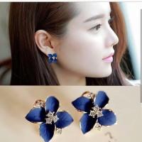 Drop Earrings - Anting Korea - Anting Pesta - Flower Bohemian Earring