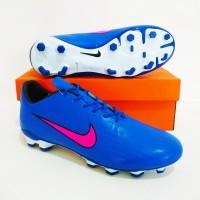 SEPATU BOLA Nike Mercurial Neymar FG MURAH BERKUALITAS (Blue Pink)