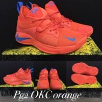 sepatu basket nike paul george 2 pg 2 orange grade original