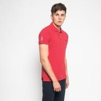 MON AKITA - Aidan Men Polo Shirt Red - Kemeja Polo Merah Pria