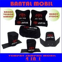 Bantal mobil Agya 4 in 1 Aksesoris