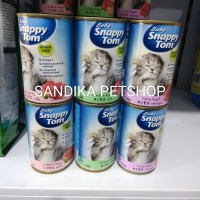 Makanan Anak Kucing SNAPPY TOM BABY KITTEN 150 Gram All Varian